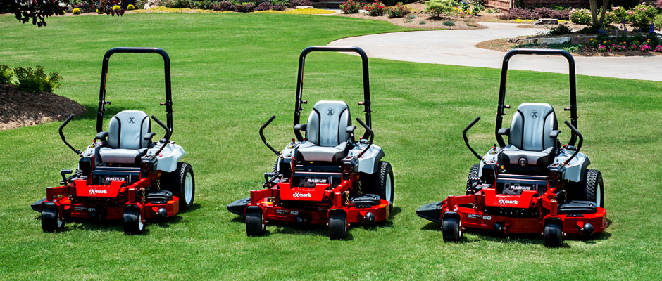 Exmark Radius X-Series Zero-Turn Mower | Ness Turf Equipment