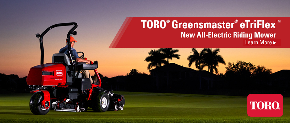 2020 | Toro Greensmaster eTriFlex