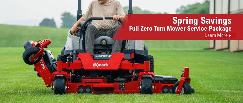 2019 | Full Zero Turn Mower Service