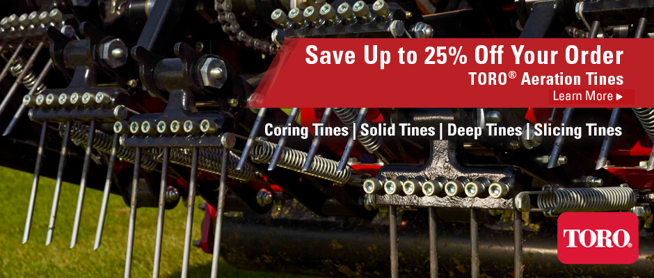 07.19 | 25% Off Aeration TInes