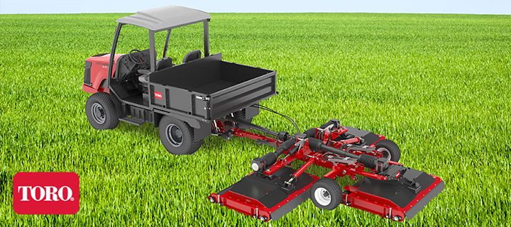 Announcing The New Toro Groundsmaster 1200 Ness Turf