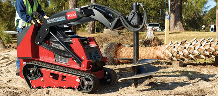 Toro Dingo Tx 1000 Reach Higher And Lift More Ness