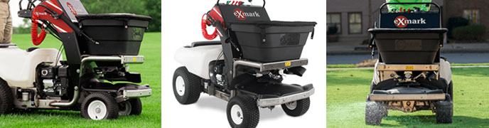 Exmark Stand-On Spreader Sprayer